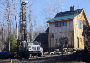 A Rotary Hammer Drilling Rig