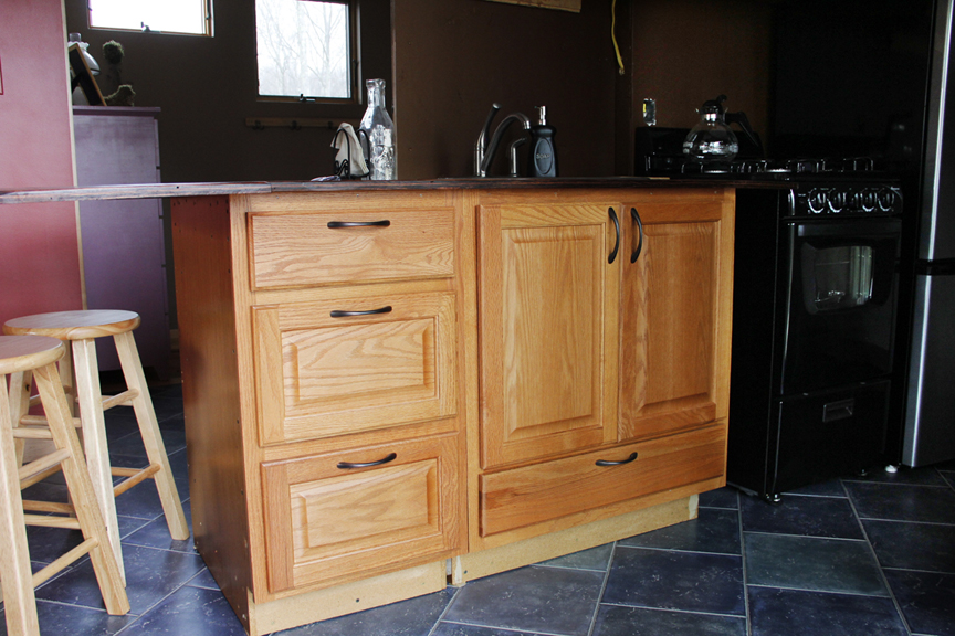 Rebuilding off the shelf kitchen cabinets johnny d blog for Off the shelf kitchen units