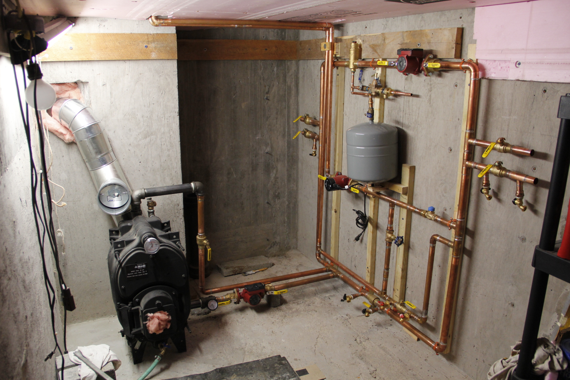 Installing A Hot Water Boiler The Journey Johnny D Blog