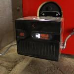 Riello Burner on Biasi B3 Boiler