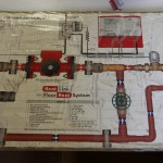 Radiant floor heat mixing schematic by Heatlink